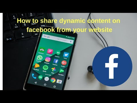 How to share dynamic content on facebook from your website