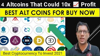 4 Altcoins That Could 10x  Profit -   | Best Cryptocurrency To Invest 2021| Best Crypto To Buy