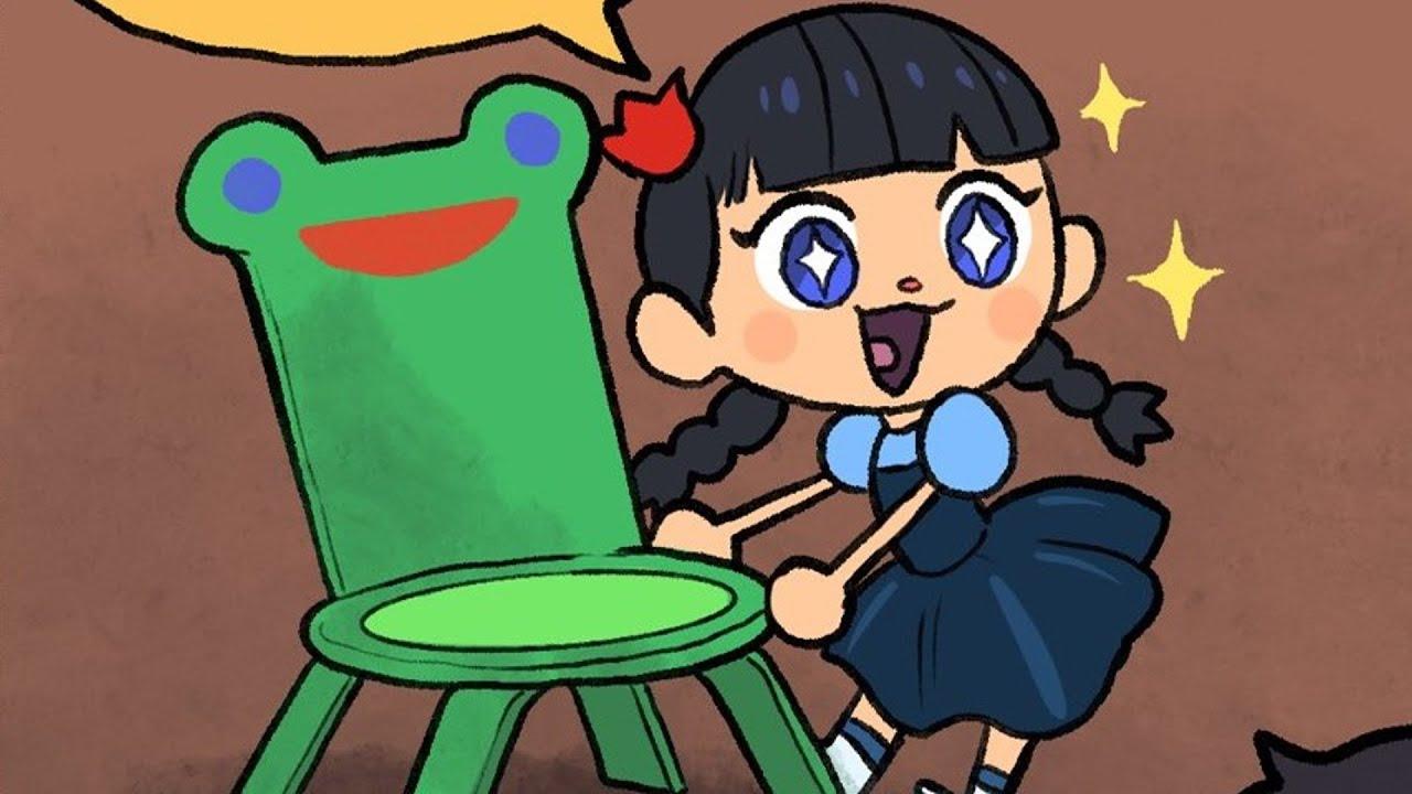 Crafting Froggy Chair Animal Crossing Comic Dub Youtube