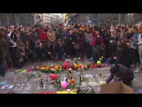 Brussels residents unite in solidarity after attacks