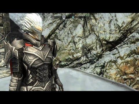 Skyrim Special Edition Exploring Guardian Rock Armor Mod