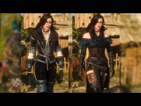 Yennefer: Original & Alternative Look DLC. Geralt Meets Yen (Witcher 3)