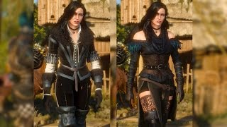 Yennefer: Original & Alternative Look DLC. Geralt Meets Yen (Witcher 3 | Sexy Stockings)