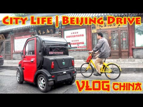 VLOG China: City Life | Beijing Drive
