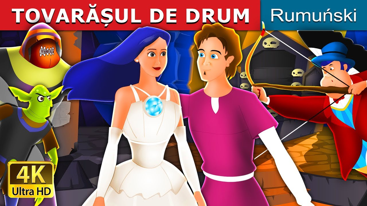 TOVARĂȘUL DE DRUM | The Travelling Companion Story in Romana | Romanian Fairy Tales