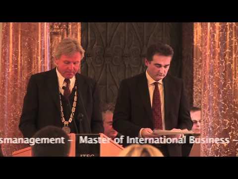 SMBS Masterfeier: Feierliche Sponsion an der Uni Salzburg