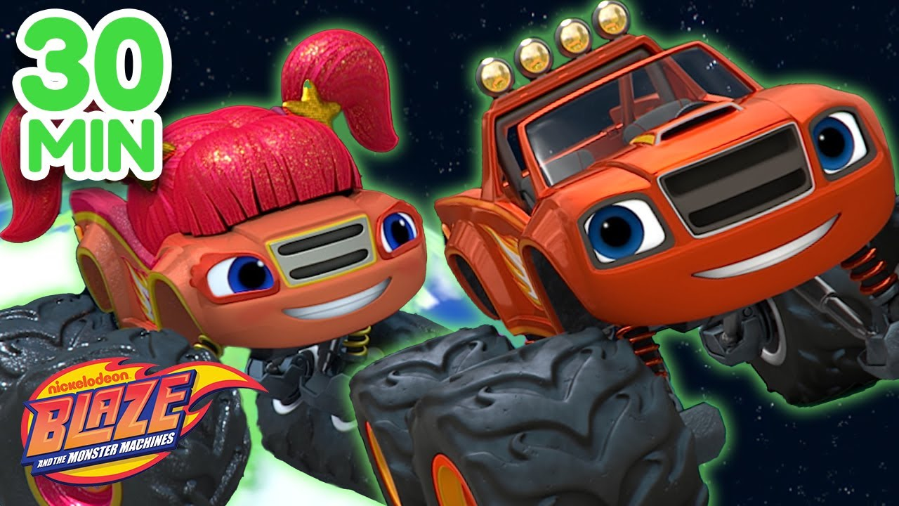 Blaze & His Super Family Compilation! | Blaze and the Monster Machines