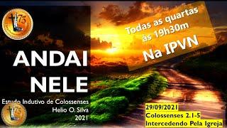 Estudo Indutivo de Colossenses - Cl 2.1-5 - 29/09/2021