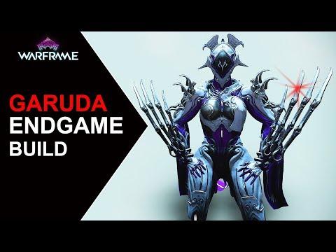 Warframe   Garuda Endgame, High Level Build & Gameplay [Pre-buff]