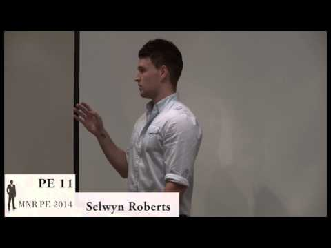 Mr PE 2014 Coaching: Selwyn Roberts
