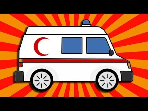 Ambulans çiziyoruz Boyuyoruz Eğitici Ve Eğlenceli çizgi Film Hd