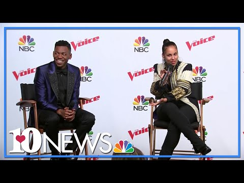 Chris Blue and Alicia Keys on winning NBC's The Voice