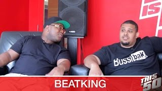 BeatKing Teaches Jack Thriller How To Make A Beat Live on Thisis50