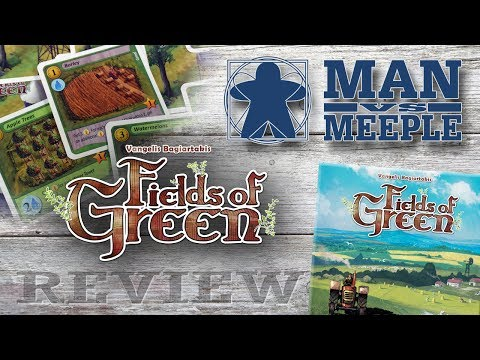 Fields of Green (Stronghold Games) Review by Man Vs Meeple