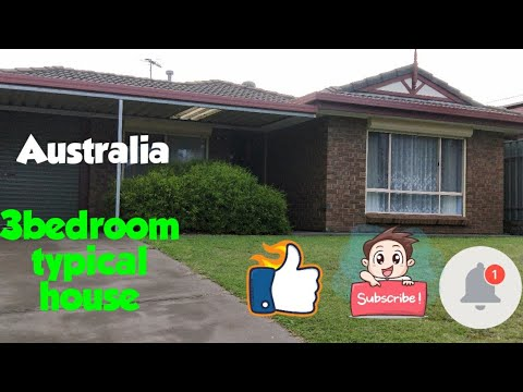 3 BEDROOM TYPICAL HOUSE IN AUSTRALIA HOUSE TOUR!/PINAY SA AUSTRALIA