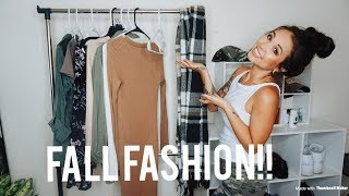 Fall Clothing Haul 2018|Fall Outfit Inspo!| Express and Forever21