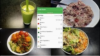 What I Eat In A Day | Daily Dozen Challenge | SOS-Free | WFPB | Vegan