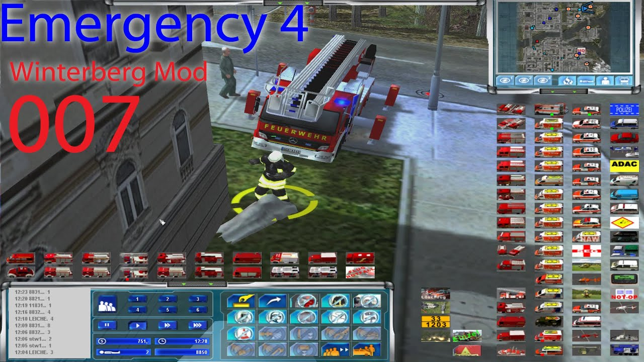 Emergency 4: winterberg mod small fire youtube.