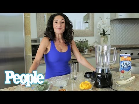 Yoga Instructor to the Stars Mandy Ingber Shares a Sweet Smoothie Recipe  People