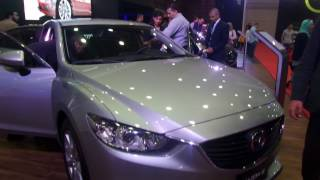 2017 Mazda 6 exterior and interior at Automech forula Egypt 2016