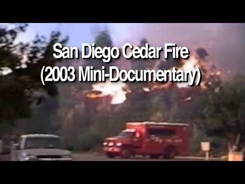 """San Diego """"Firestorm"""" - October 26, 2003 (Cedar Fire)"""