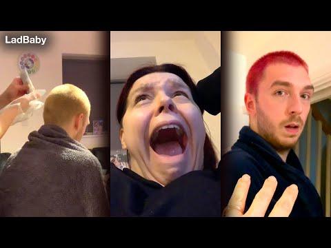When Mum swaps Dads hair dye 👩🎤🤣