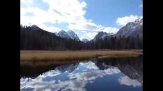 Sun Valley Idaho Fall Sawtooth Wilderness of Central Idaho