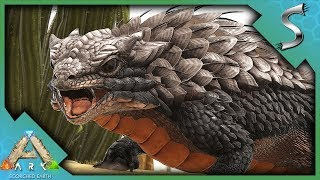 SETTING UP A BASE CAMP AND TAMING UTILITY DINOS! - Ultimate Ark [E44 - Scorched Earth]