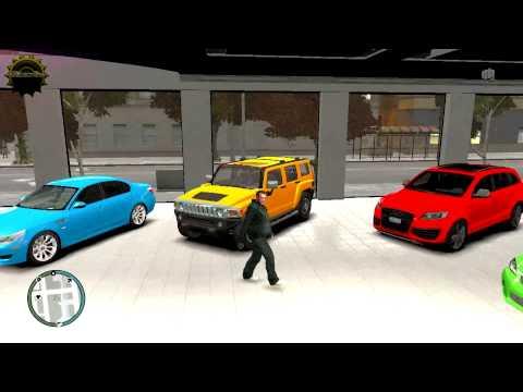 GTA 4 AMAZING GARAGE REAL CAR MODS AMAZING TO WATCH