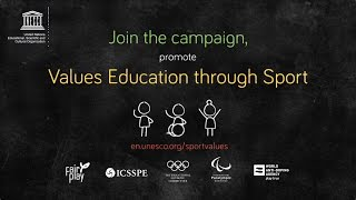 Values Education through Sport