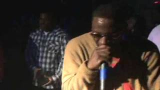 "Young Dro performing ""I dont know yall"" in Augusta @ Club Cream"