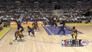 NBA Live 2004 GameCube Gameplay HD