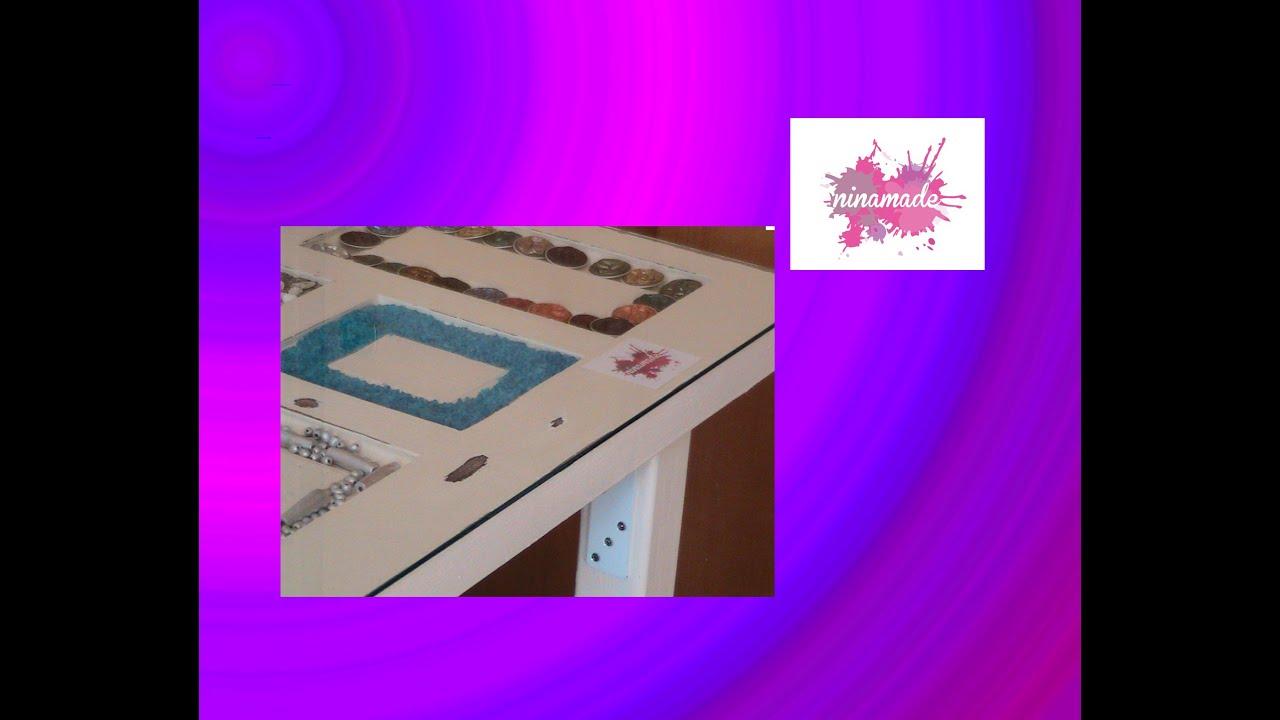 Como hacer una mesa con una puerta reciclada youtube - Como hacer una mesa abatible ...