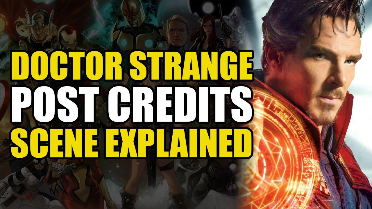 Doctor Strange After Credits Scene Explained