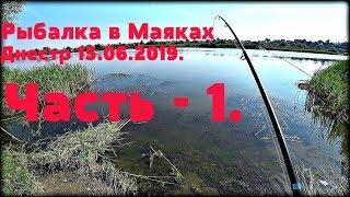 Рыбалка в Маяках, Днестр 15.06.2019. Часть - 1.