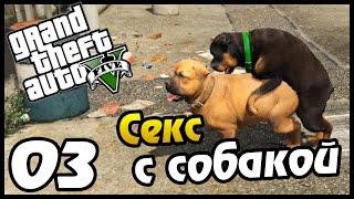 GTA 5 PS4 ПРОХОЖДЕНИЕ - 03 - СЕКС С СОБАКОЙ