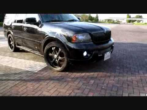 03y Lincoln Navigator Black Style from Lion Heart - YouTube
