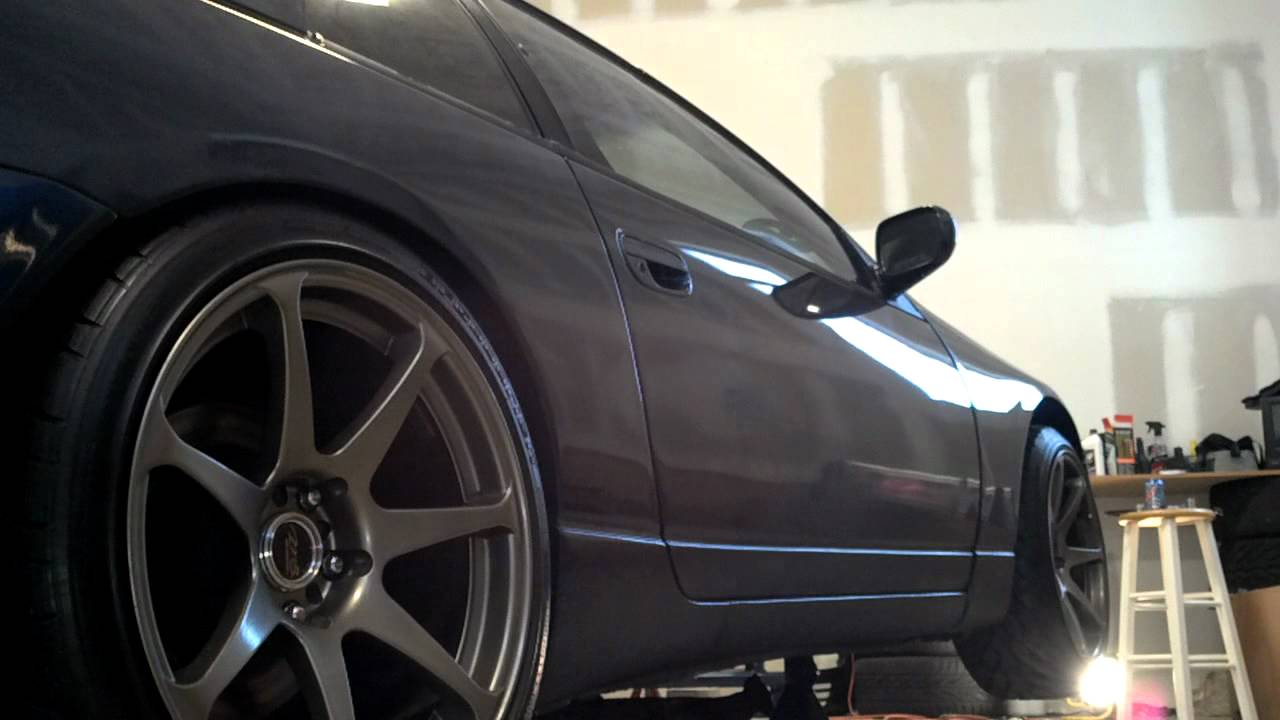 96 300zx Twin Turbo Open Downpipes Youtube