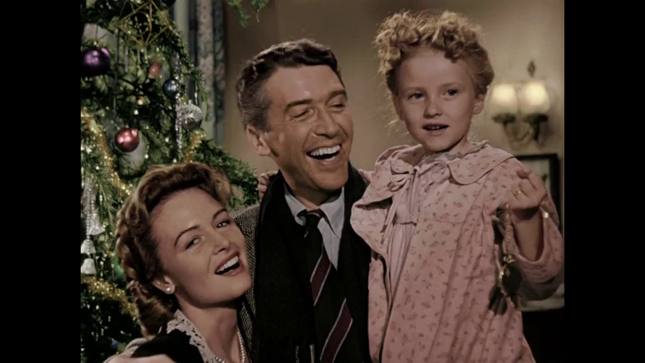 Its A Wonderful Life Auld Lang Syne Colorized 1946