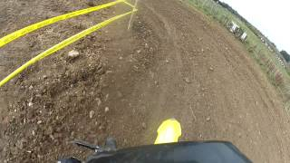Enstone MX Track with BMXC 2 Stroke Open Class Rider: Russ Boyles on RM250