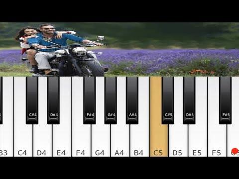 tu-mila-to-haina-piano-|-de-de-pyar-de-|-tutorial-chords-cover
