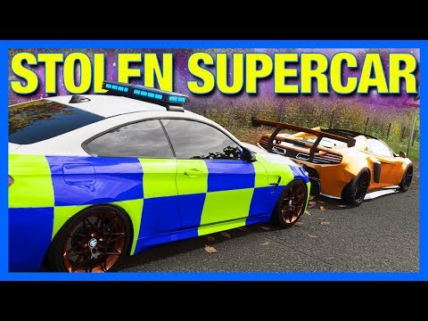 Forza Horizon 4 Online : Stolen Supercar!! (Part 2) thumbnail