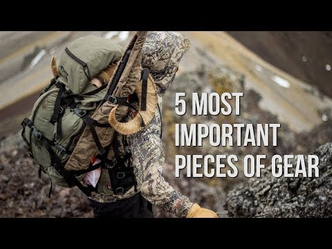 DALL SHEEP HUNTING | Most Important Gear