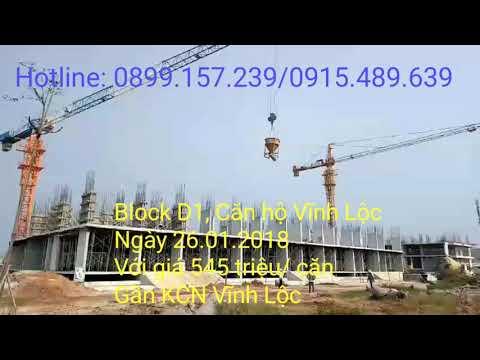 Block D1 khu căn hộ Vĩnh Lộc ngày 26.01.2018