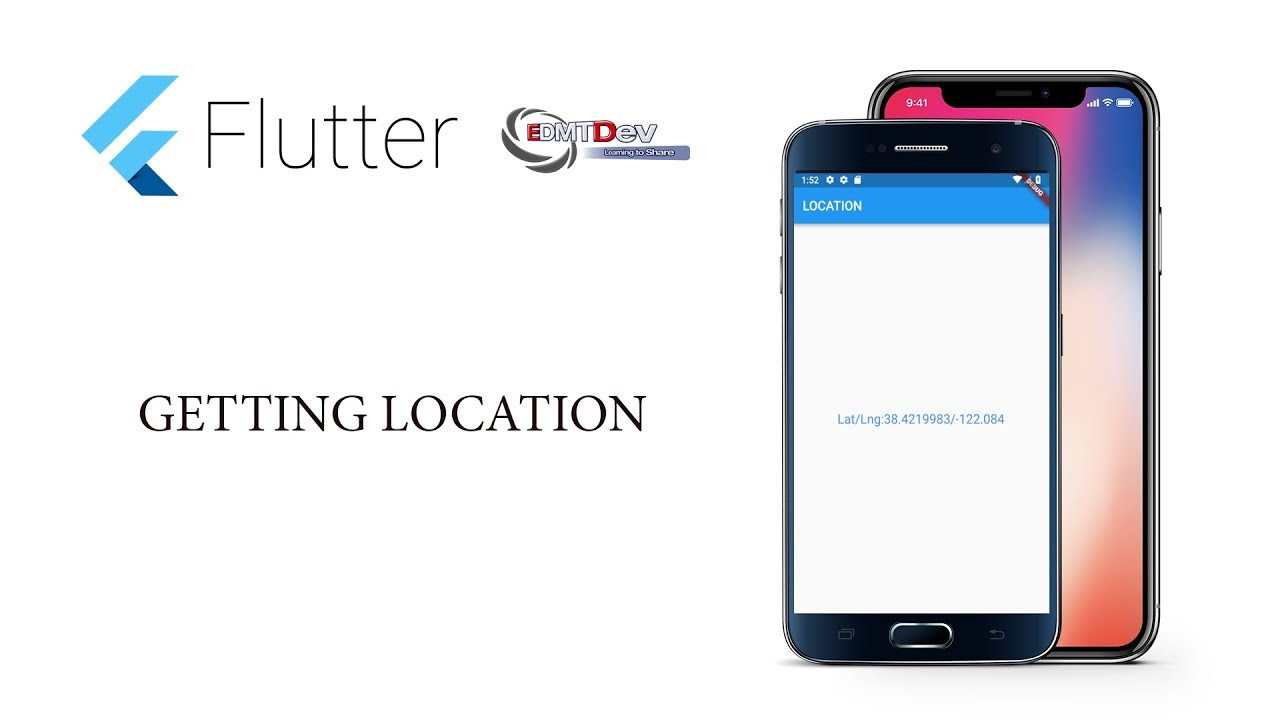 Flutter Tutorial - 14 Get Location of Device