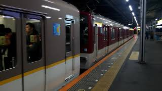 近鉄5820系DH25編成+1252系VE77編成大阪難波行き急行 鶴橋駅発車