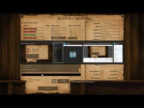 Age Of Empires 2 - First Game Of 2018 Reunion Chat