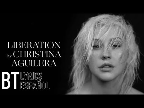 Christina Aguilera - Fall In Line ft. Demi Lovato (Lyrics + Español) Audio Official