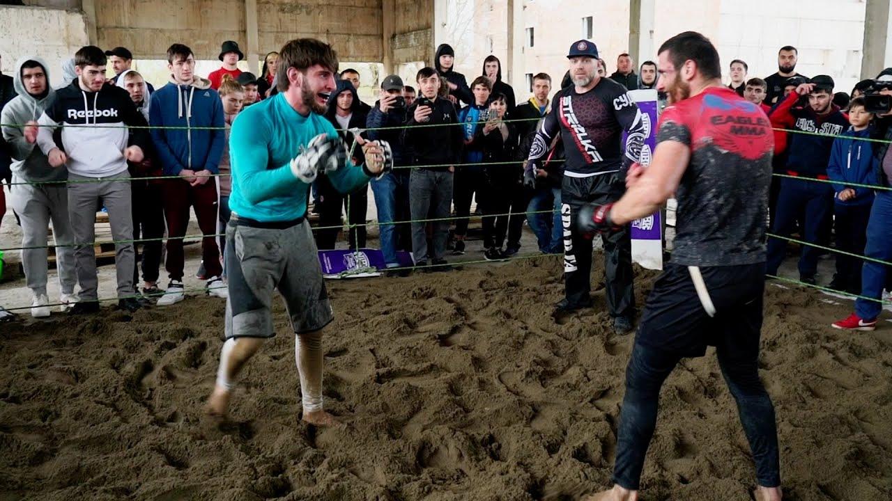 ГОРЕЦ против Чемпиона Борьбы !!! Хороший бой !!