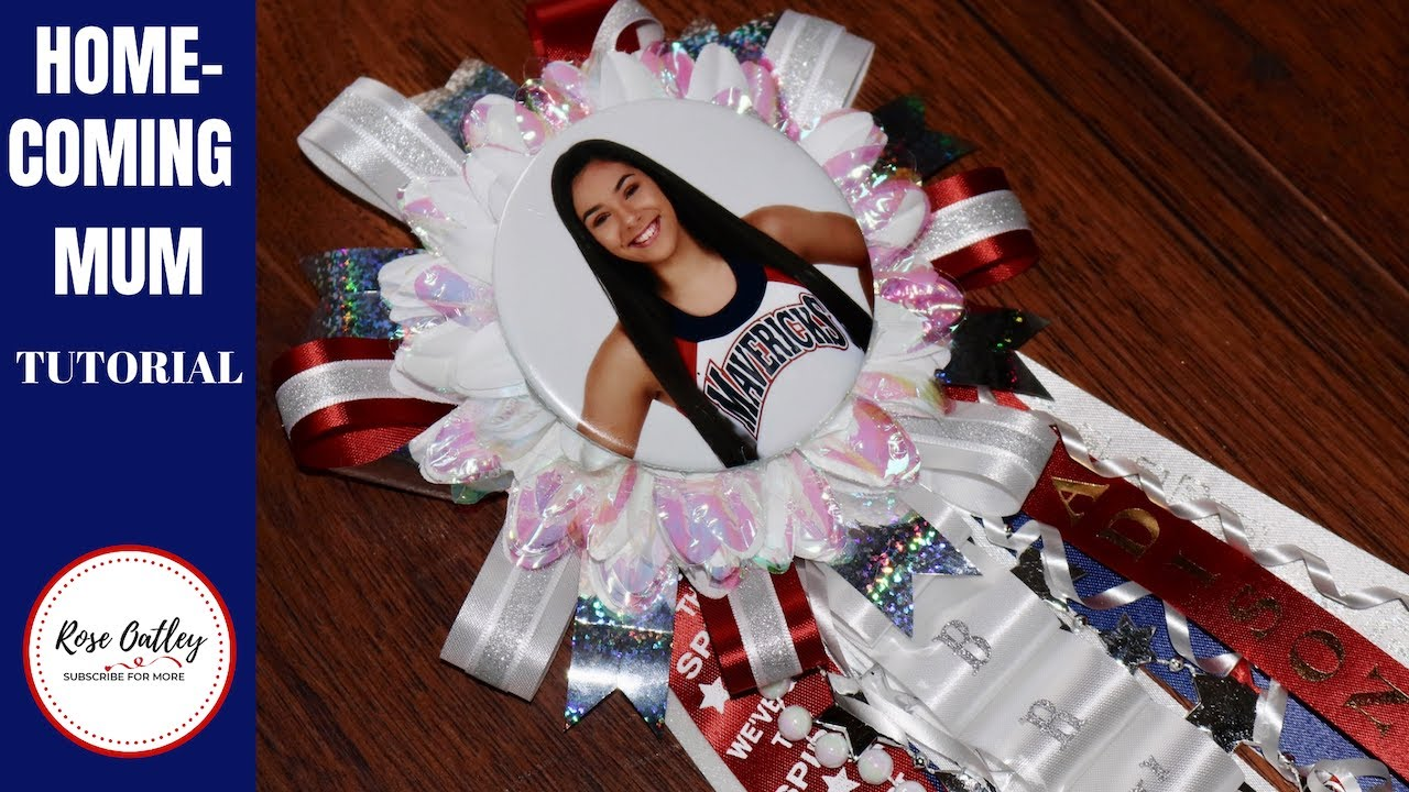 How To Make Homecoming Mums Easy Step By Step Cheerleader Mums